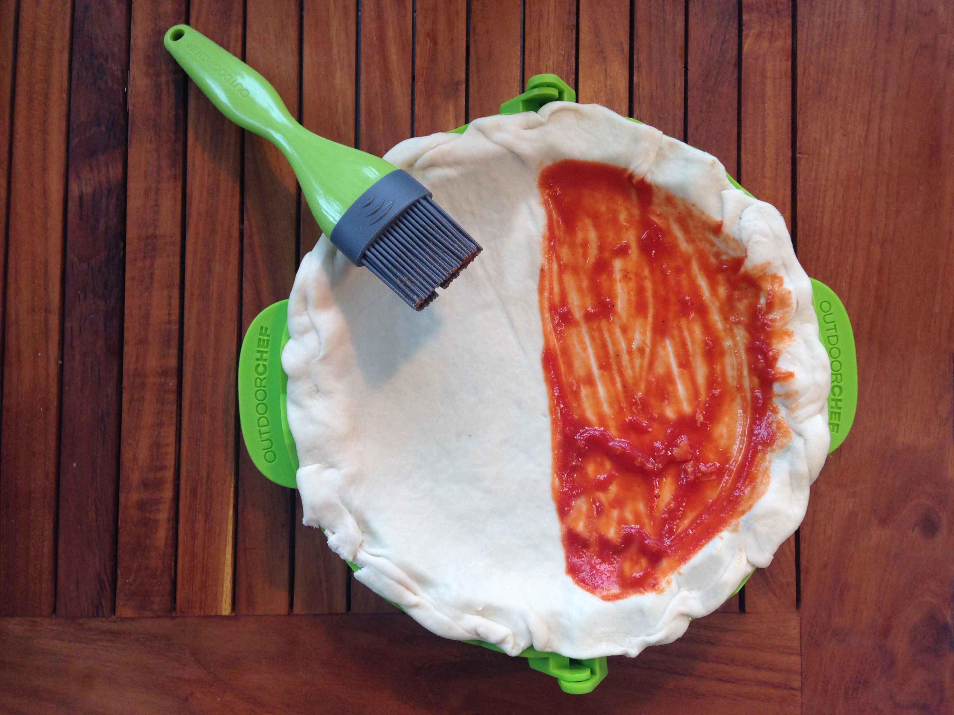 Sugo na pizzu nebo calzone